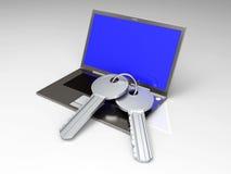 Secure Laptop Stock Photos