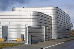 Secure Metal Industrial Building Stock Photos