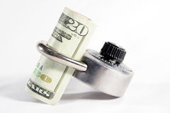 Secure Money Royalty Free Stock Image