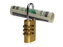 Secure money Royalty Free Stock Images