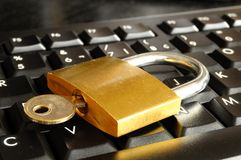 Secure online banking Royalty Free Stock Images