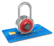 Secure Online Shopping Stock Image