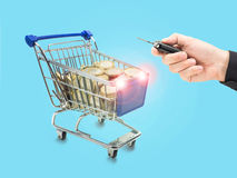 Secure Online Shopping Stock Images