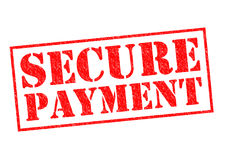 SECURE PAYMENT Royalty Free Stock Images