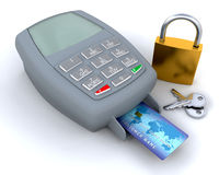 Secure purchase Royalty Free Stock Image