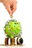 Secure Savings Stock Image