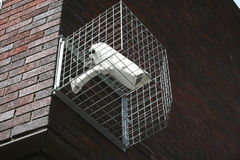 Secure security camera stock photo