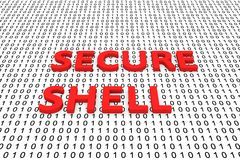 SECURE SHELL Royalty Free Stock Photography