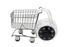 Secure Shopping Royalty Free Stock Image