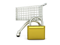 Secure Shopping Stock Images