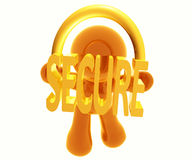 Secure transaction Royalty Free Stock Photo