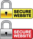 Secure Website Symbol Icon Vector Stock Photo