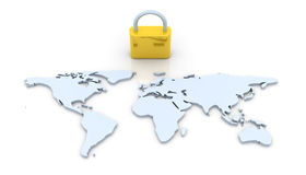 Secure World Royalty Free Stock Photos