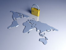 Secure World Stock Photography