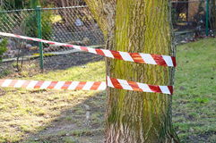 Secured area Royalty Free Stock Photos