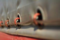 Secured cargo Stock Photo