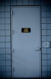 Secured doors at an airport Royalty Free Stock Photos