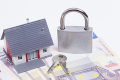 Secured house Stock Photography