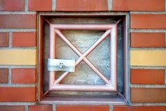 Secured manhole Royalty Free Stock Photo