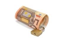 Secured money Stock Image