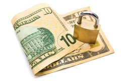 Secured money Royalty Free Stock Photography