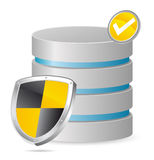 Secured server Stock Photography