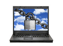 Securing the cloud Royalty Free Stock Photos