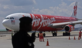 Securites d'Air Asia Image libre de droits