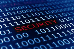 Security. Close up of Security concept stock images