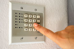 Security alarm Royalty Free Stock Images