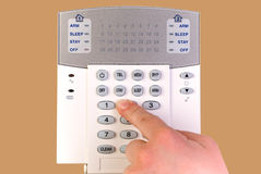 Security alarm system Stock Photos