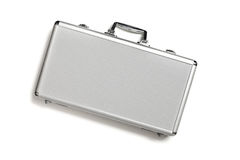 Security aluminum case Royalty Free Stock Photo