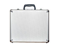 Security aluminum case Stock Photo