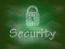 Security background Royalty Free Stock Images