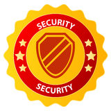 Security badge Royalty Free Stock Photos
