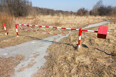 Security barrier Royalty Free Stock Images