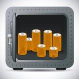 Security box design Royalty Free Stock Photos
