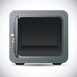 Security box design Stock Image