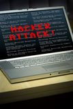 Security breach Royalty Free Stock Images