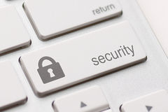 Security button key Royalty Free Stock Image