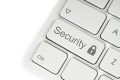 Security button royalty free stock image