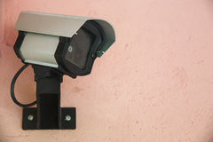 Security cam on wall Royalty Free Stock Photography