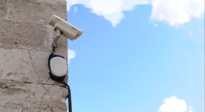 A Security Camera Royalty Free Stock Photos