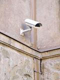 Security Camera. A security camera on a wall Royalty Free Stock Photography