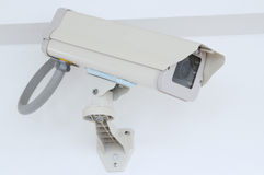 Security camera. Royalty Free Stock Photo