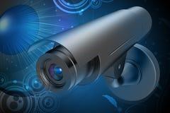 Security camera Stock Photography