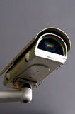 Security Camera. CCTV Camera in use - lens reflections Stock Image