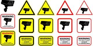 Security camera 3 (+ vector) stock photos