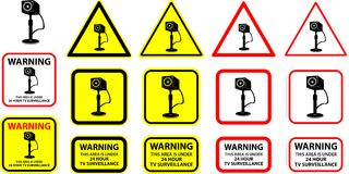Security camera 5 (+ vector) royalty free stock image
