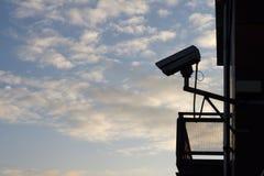 Security Camera. CCTV camera is watching you stock photos